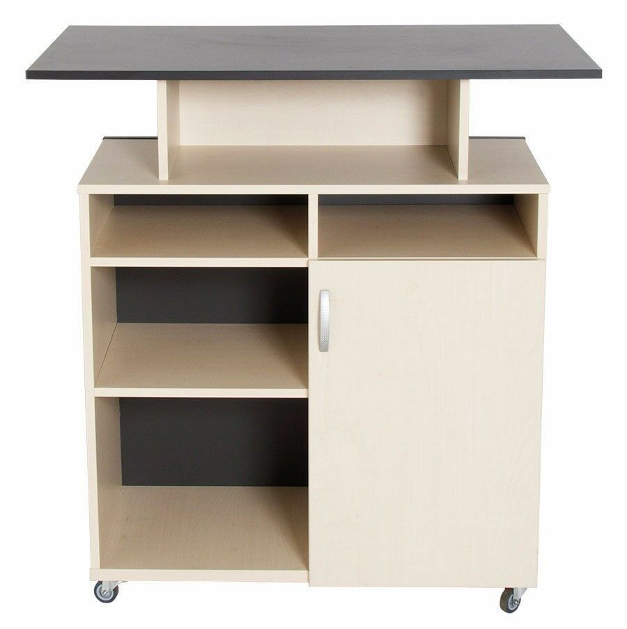 theke auf rollen ladentheke verkaufstisch eur 299 00 picclick de. Black Bedroom Furniture Sets. Home Design Ideas