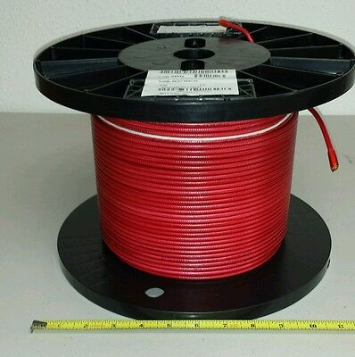 500 Ft Spool M50862-10-2 10awg Electrical Single Stranded Wire 600v