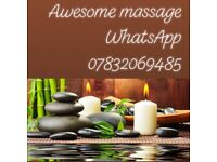 Awesome massage 4 mins walk from Welling