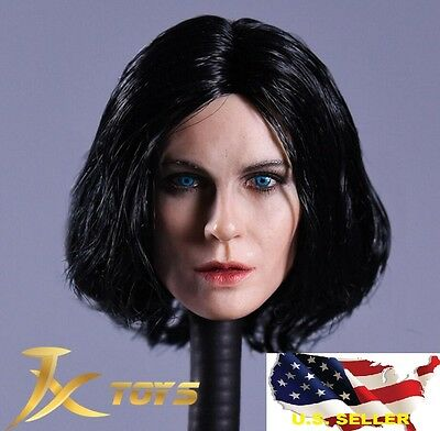 1/6 Kate Beckinsale female head Selene Underworld hot toys phicen ❶US seller❶