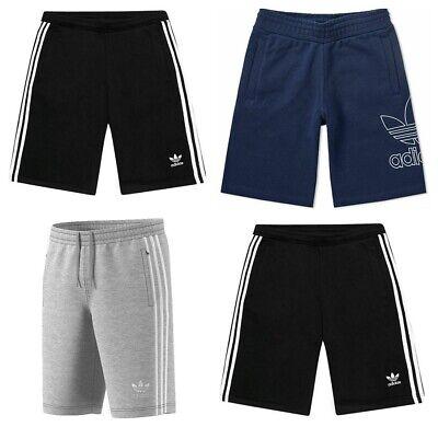 Adidas Mens Originals 3 Stripes Essential Outline Shorts Casual Summer Cotton