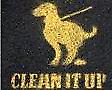 Dog poo clean up.