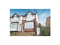 three bed rooms and two separate sitting room semi -detached house to rent