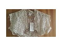 Designer ivory lace Bolero bought from Browns Brides size Small