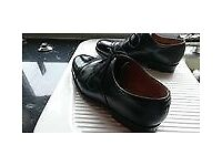 Mens Leather Parade Shoes Army / RAF / CadetSize 9