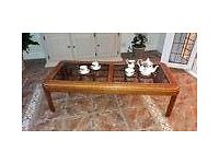Beautiful Walnut on Canadian Pine Coffee table and side table