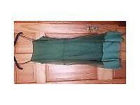 Jigsaw green dress