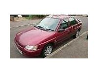 1998 Ford Escort Finesse 16v Red Low Mileage 62500