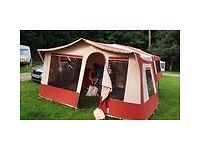 Trailer tent with awning and electric,4 berth? good condition