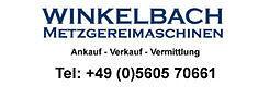 Winkelbach-Metzgereimaschinen