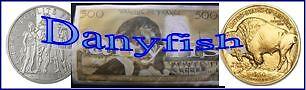 Danyfish Boutique Vente de Monnaies