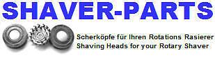 SHAVER-PARTS Rasierer Scherköpfe