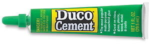 Duco Cement Glue for Sea Shells Sailor's Valentine Flowers Best Glue for Crafts