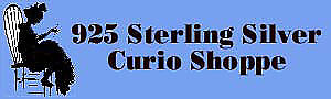 925 Sterling Silver Curio Shoppe