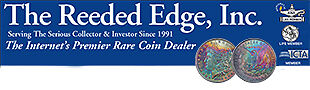 The Reeded Edge RARE COINS and TOYS