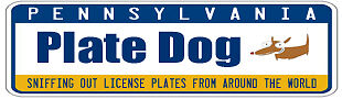 PLATE DOG LICENSE PLATES