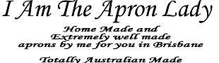 I Am The Apron Lady