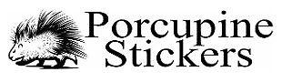 Porcupine Stickers
