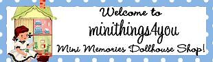 Mini Memories Dollhouse Shop