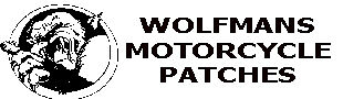 Wolfman's Classic Motorbike Patches