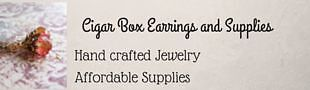 Cigar Box Earrings and Supplies