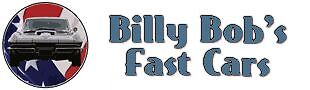 Billy Bob's Fast Cars