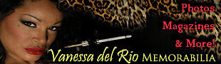 Vanessa del Rio Memorabilia