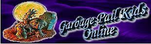 Garbage Pail Kids Online
