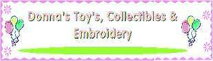 DONNA'S TOYS AND COLLECTIBLES