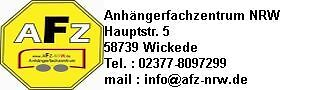 AFZ-NRW / Anhängerfachzentrum NRW