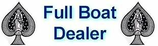 Full Boat Dealer Playing Cards