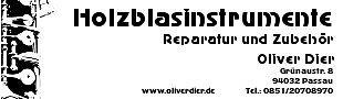 Holzblasinstrumente Passau