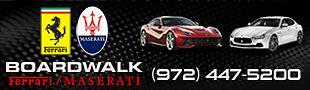 Boardwalk Ferrari Maserati