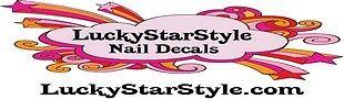 LuckyStarStyle Nail Decals