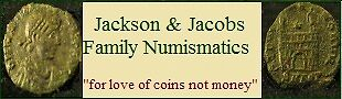 Jackson Jacobs Family Numismatics