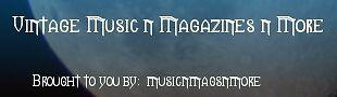 Vintage Music n Magazines n More