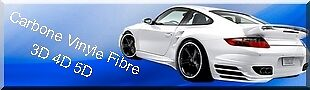 Carbone Vinyle Fibre 3D 4D 5D
