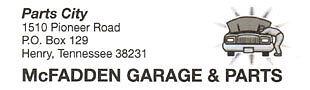 McFadden's Garage and Auto Parts