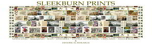 Antique Vintage SLEEKBURN PRINTS