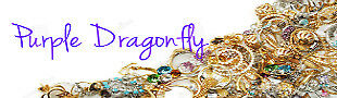 Purple Dragonfly Accessories