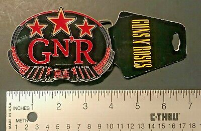 GUNS N ROSES, BELT BUCKLE!BRAND NEW WITH TAGS!!ORIGINAL