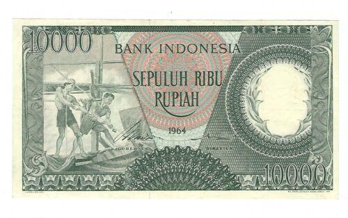 Indonesia - 1964, 10,000 Rupiah !!A-UNC!!