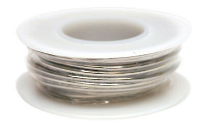 Tinned Copper Wire 18 awg 4 oz Spool (50 Feet) Diameter 0.040 Awg 50 Spool