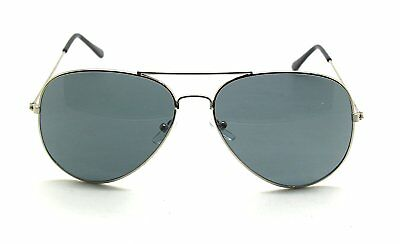 RetroUV® Premium Full Mirrored Aviator Sunglasses Classic Metal Frame Uv400
