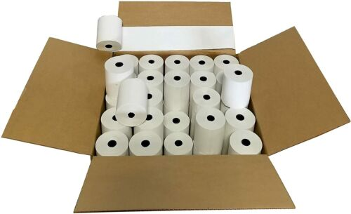 "3-1/8"" x 230"" Thermal Paper Rolls (50 Rolls) Cheapest Price Guaranteed."