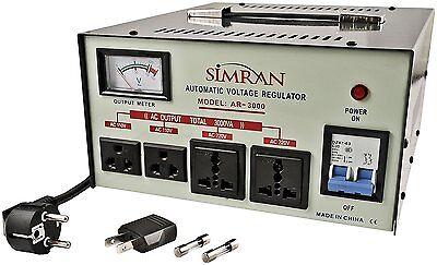 Best 3000 Watt Voltage Converter Stabilizer 110 220 Volt New 3000W Transformer