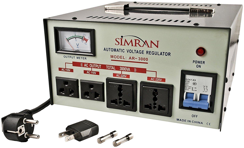 Simran International Best 3000 Watt Voltage Converter Sta...