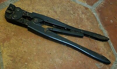 Amp Tyco Hand Crimper Crimping Tool Pidg 16-14 Model 48431