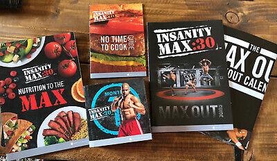 Beachbody Shaun T's Insanity Max 30 Workout - 10 Disc DVD Set Fitness Cardio