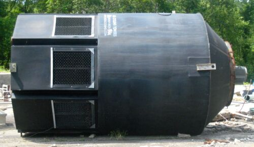 Delta Cooling Tower, Serial No 58875, 7.5 HP, Type TEAO, 300 GPM, 10PSI